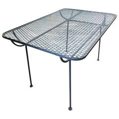 Mid-Century Modern Outdoor Dining Table by John Salterini