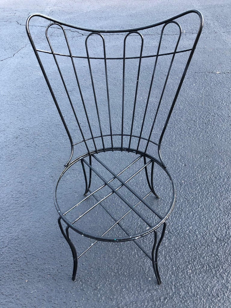 """Mid-20th Century Mid-Century Modern """"Homecrest"""" Outdoor Patio Chair For Sale"""