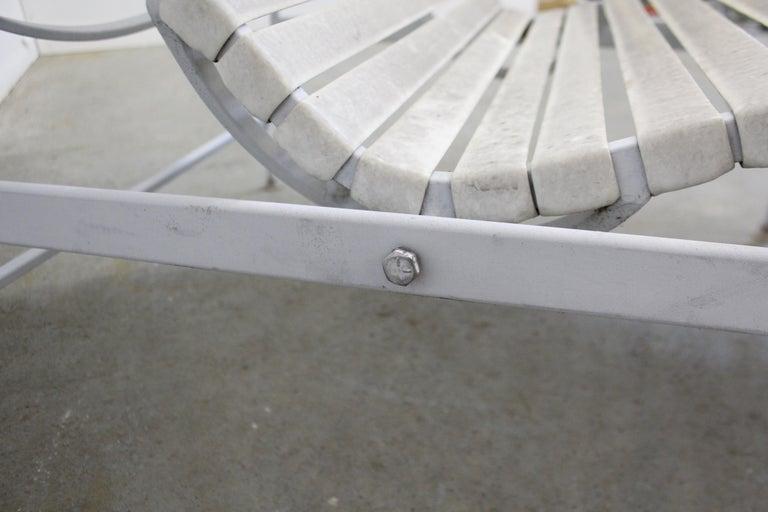 Mid-Century Modern Outdoor Zero Gravity Lounge Chair For ...