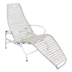 Mid-Century Modern Outdoor Zero Gravity Lounge Chair