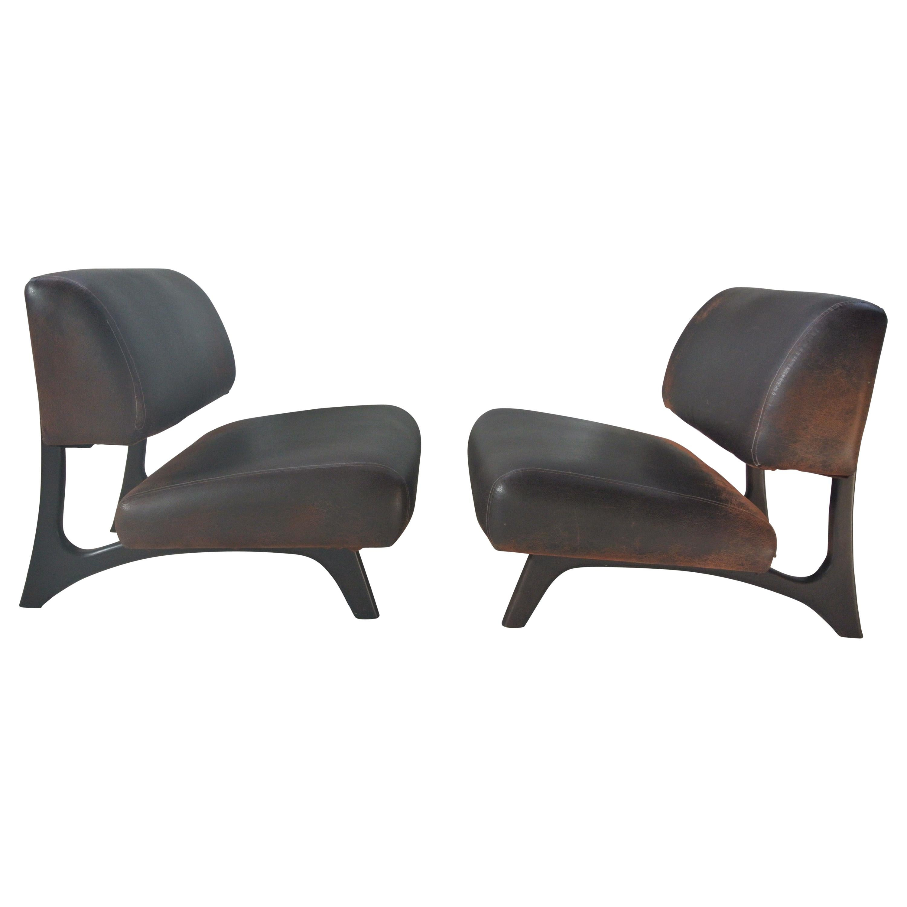 sc 1 st  1stDibs & Mid-Century Modern Oversized Club Chairs For Sale at 1stdibs