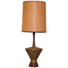 Mid-Century Modern Oversized Statement Lamp
