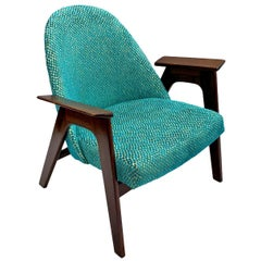 Mid-Century Modern Paddle Lounge Chair