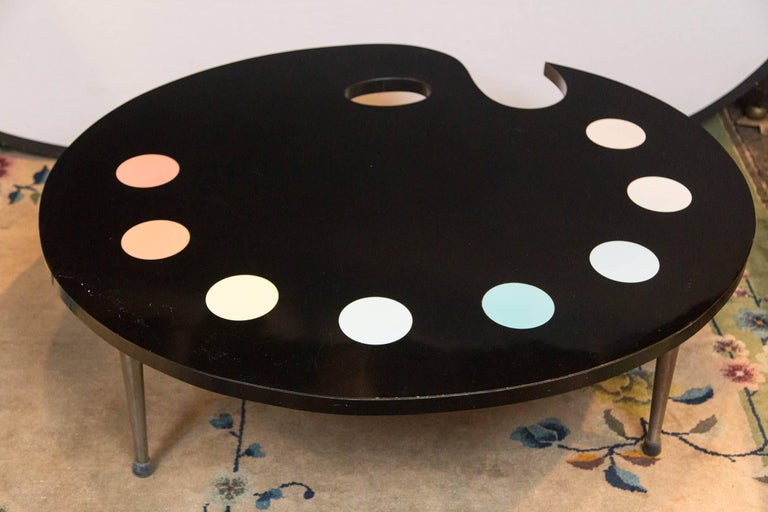 Mid-Century Modern Painter's Palette Coffee Table For Sale 2