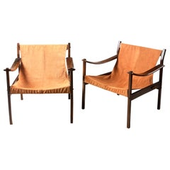 Mid-Century Modern Pair of Model 720 Armchairs by Jorge Zalszupin, Brazil 1960s