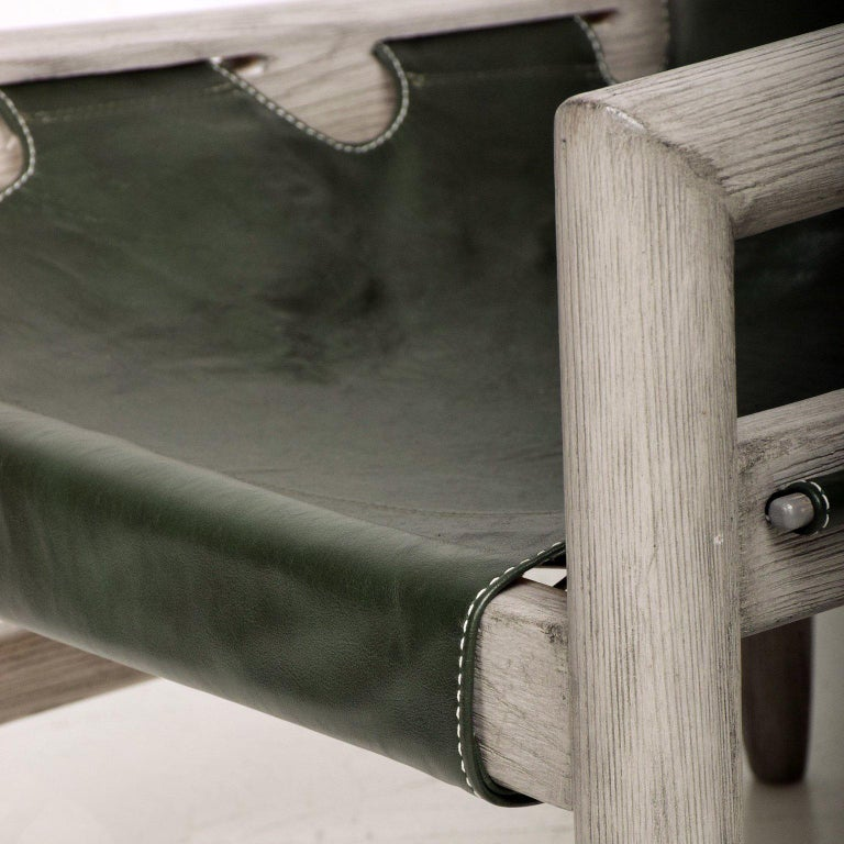 For your consideration a pair of safari lounge chairs.