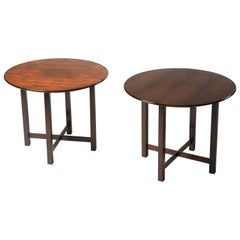 Mid-Century Modern Pair of Side Tables by Fatima Arquitetura, Brazil, 1960s