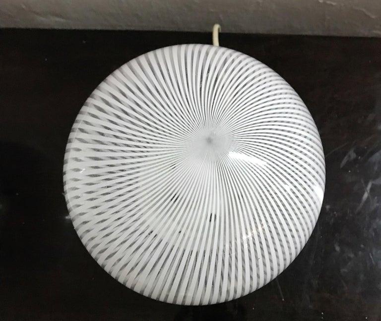 20th Century Mid-Century Modern Pair of Venini Table Lamps