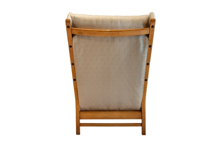 Mid-20th Century Mid-Century Modern Pair of Wingback Teak Chairs Attributed to Arne Norell For Sale
