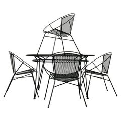 Mid-Century Modern Patio Dining Set by Maurizio Tempestini  for Salterini