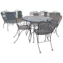 Mid-Century Modern Patio Set in the Style of Russell Woodard