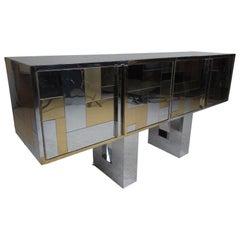 Mid-Century Modern Paul Evans Cityscape Cabinet