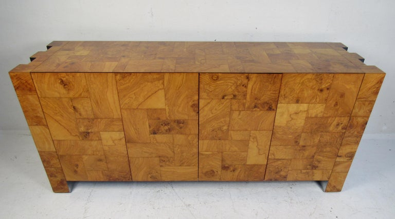 Mid-Century Modern Paul Evans Credenza for Directional In Good Condition For Sale In Brooklyn, NY