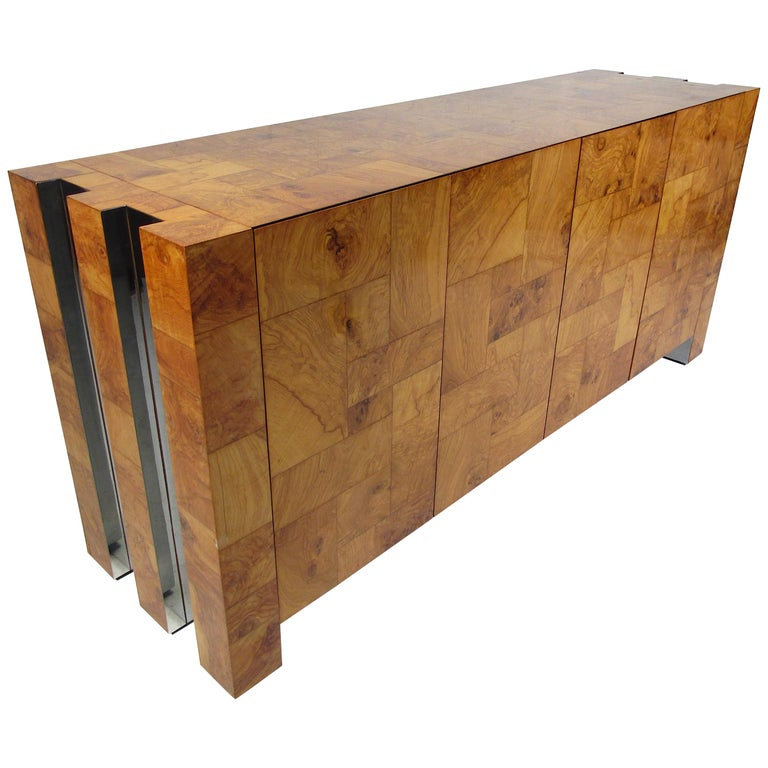 Mid-Century Modern Paul Evans Credenza for Directional For Sale