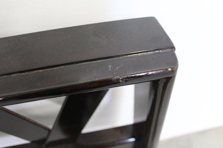 Mid-Century Modern Paul Frankl Zig-Zag King Size Headboard For Sale 5