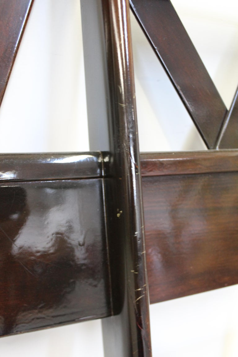 Mid-Century Modern Paul Frankl Zig-Zag King Size Headboard For Sale 3