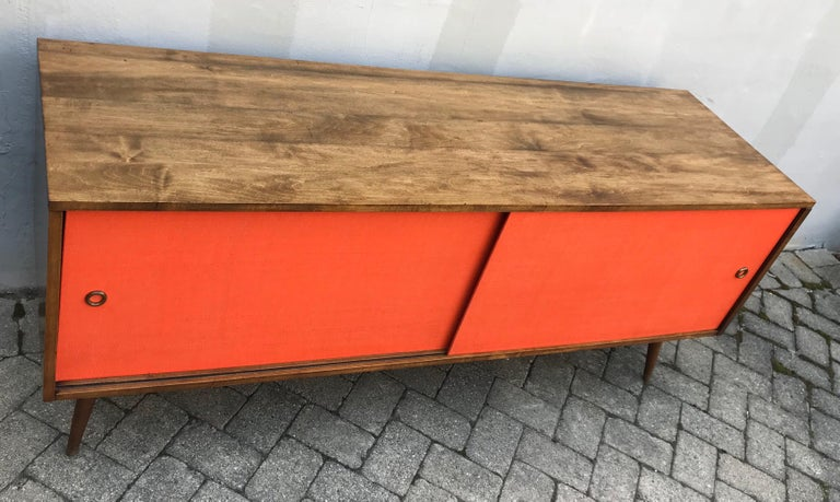 American Mid-Century Modern Paul McCobb Credenza for Planner Group, Early 1950s For Sale