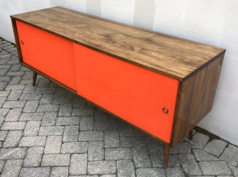 Mid-Century Modern Paul McCobb Credenza for Planner Group, Early 1950s In Good Condition For Sale In Bedford Hills, NY