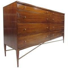 Mid-Century Modern Paul McCobb Eight-Drawer Dresser