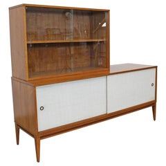 Mid-Century Modern Paul McCobb for Planner Group 2-Piece Credenza China Cabinet