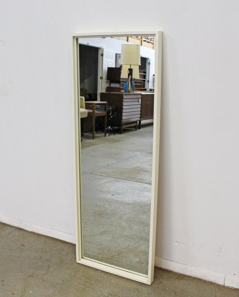 American Mid-Century Modern Paul McCobb for Planner Group White Wall Mirror For Sale