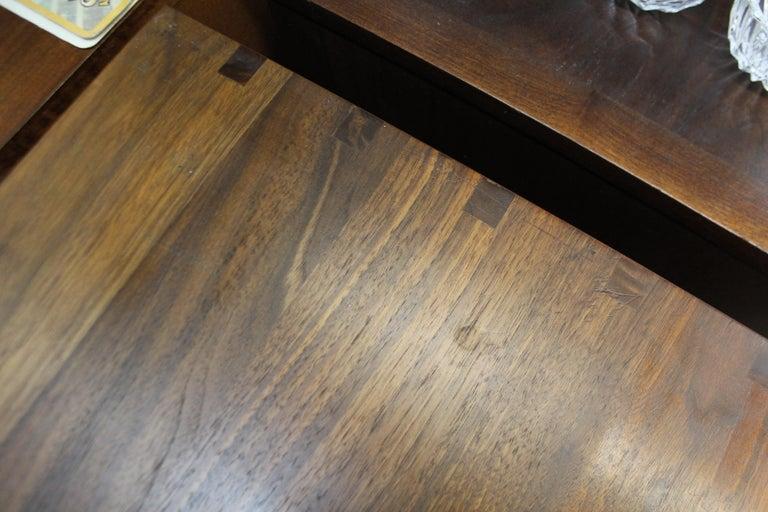 Mid-Century Modern Paul McCobb Lane 'Components' Walnut Credenza For Sale 4