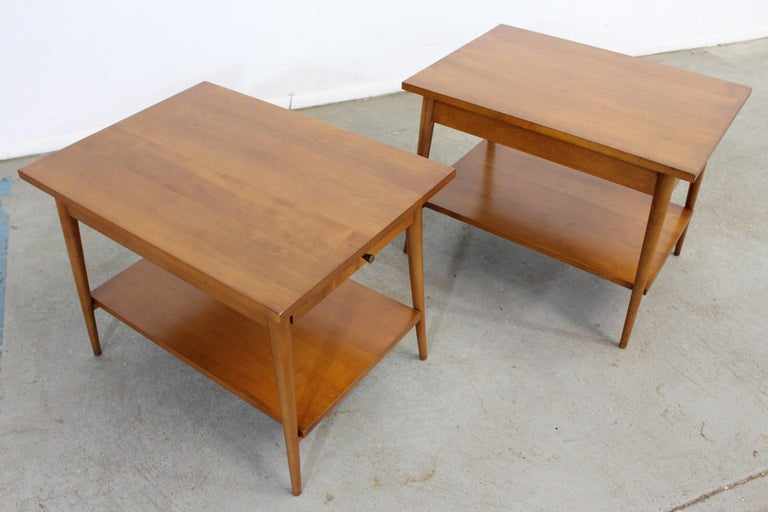 Mid-Century Modern Paul Mccobb Nightstands/End Tables For Sale 9