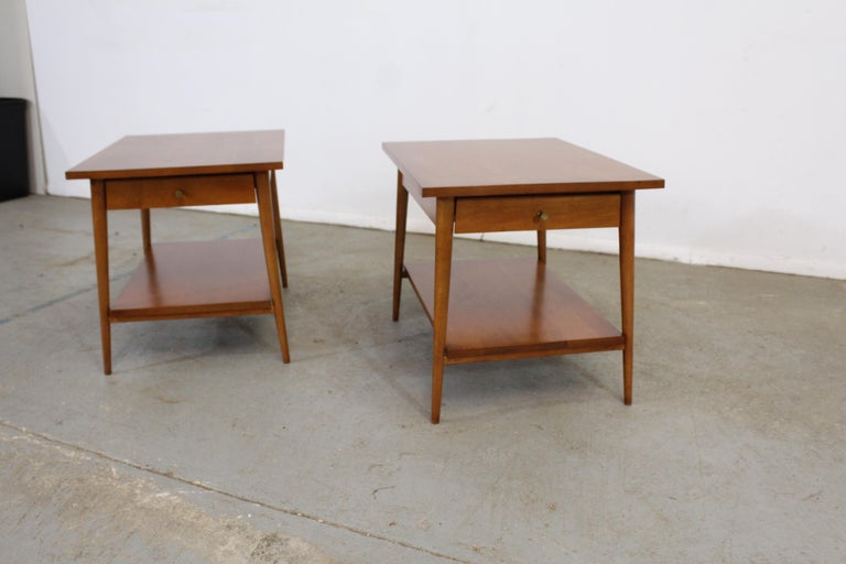 North American Mid-Century Modern Paul Mccobb Nightstands/End Tables For Sale