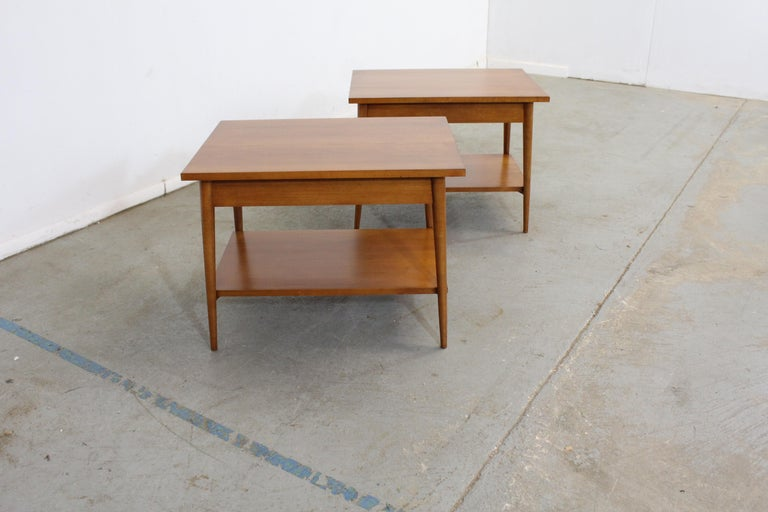 Mid-Century Modern Paul Mccobb Nightstands/End Tables In Good Condition For Sale In Wilmington, DE