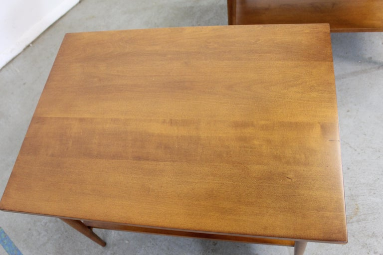 Mid-20th Century Mid-Century Modern Paul Mccobb Nightstands/End Tables For Sale
