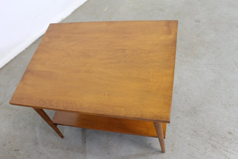 Birch Mid-Century Modern Paul Mccobb Nightstands/End Tables For Sale