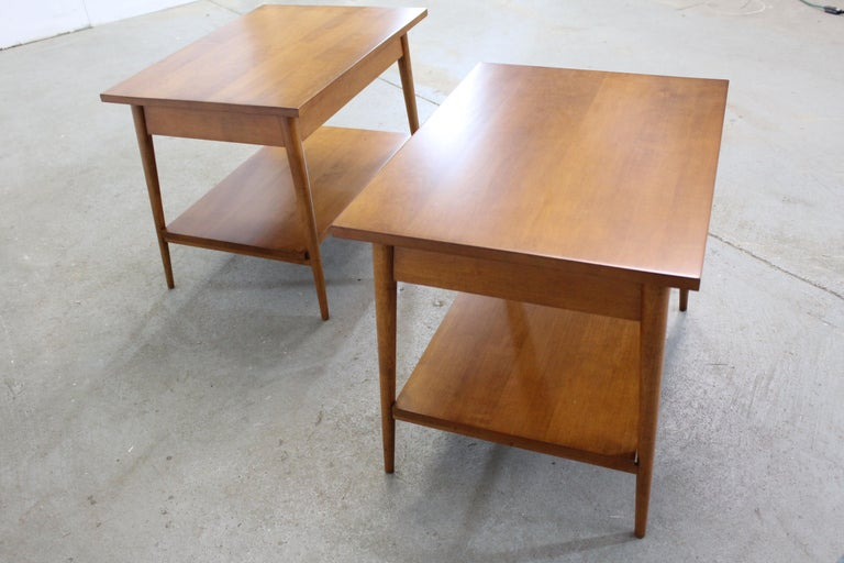 Mid-Century Modern Paul Mccobb Nightstands/End Tables For Sale 1