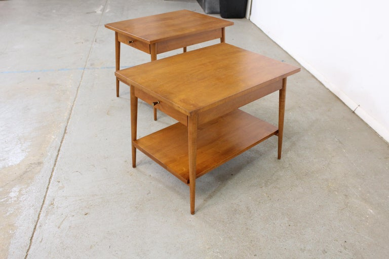 Mid-Century Modern Paul Mccobb Nightstands/End Tables For Sale 2