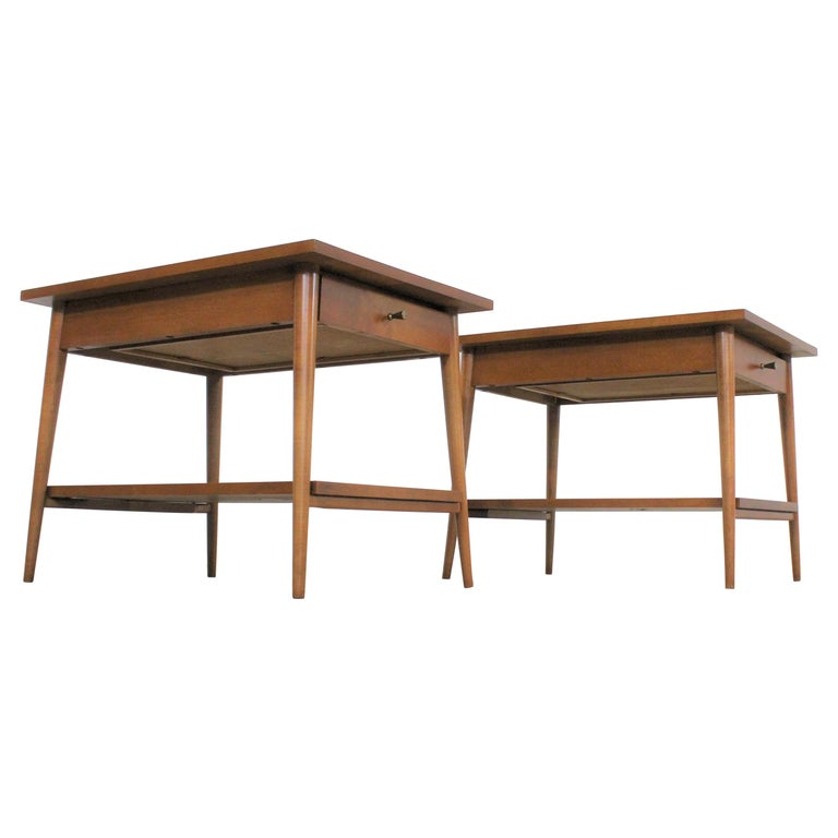 Mid-Century Modern Paul Mccobb Nightstands/End Tables For Sale