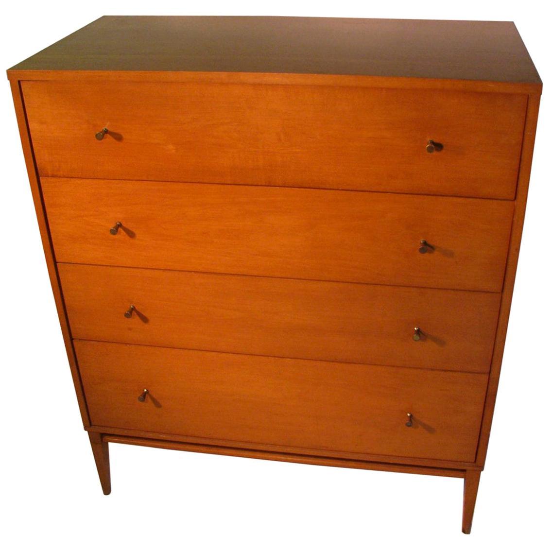 Mid-Century Modern Paul McCobb Planner Group 4-Drawer Dresser