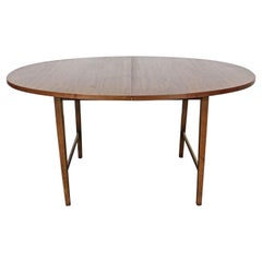 Mid-Century Modern Paul McCobb Style Walnut Extendable Dining Table
