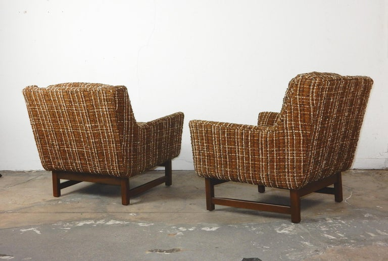 20th Century Mid-Century Modern Petite Lounge Chairs Jens Risom For Sale