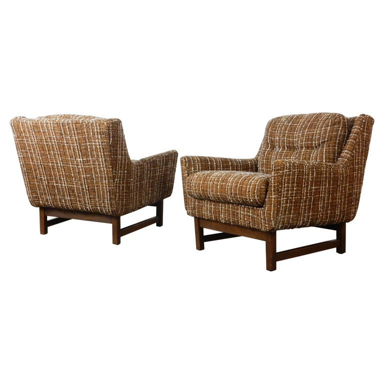 Mid-Century Modern Petite Lounge Chairs Jens Risom For Sale