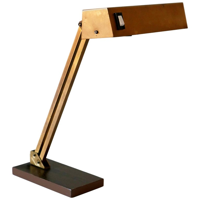 Mid Century Modern Piano Lamp Or Desk, Modern Piano Lamp