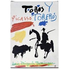 Mid-Century Modern Picasso Toros Toreros Art Book Suite Lithos 2nd Edition 1950s