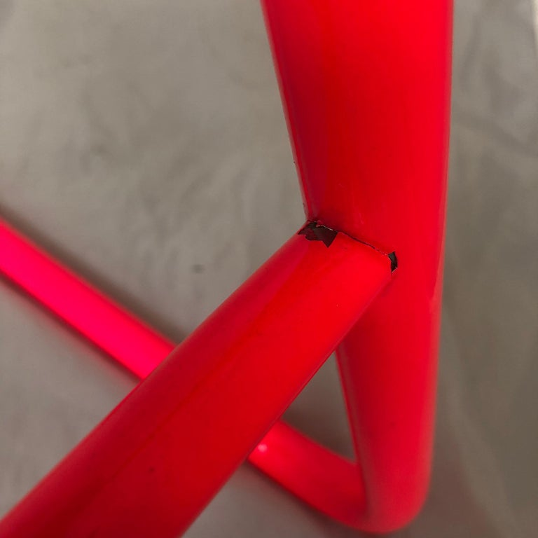 Mid-Century Modern Pink Bar Stool by Daystrom and Knoll For Sale 5