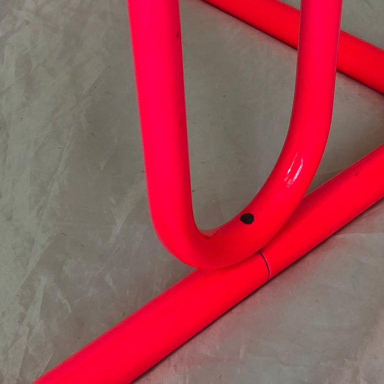 Mid-Century Modern Pink Bar Stool by Daystrom and Knoll For Sale 6