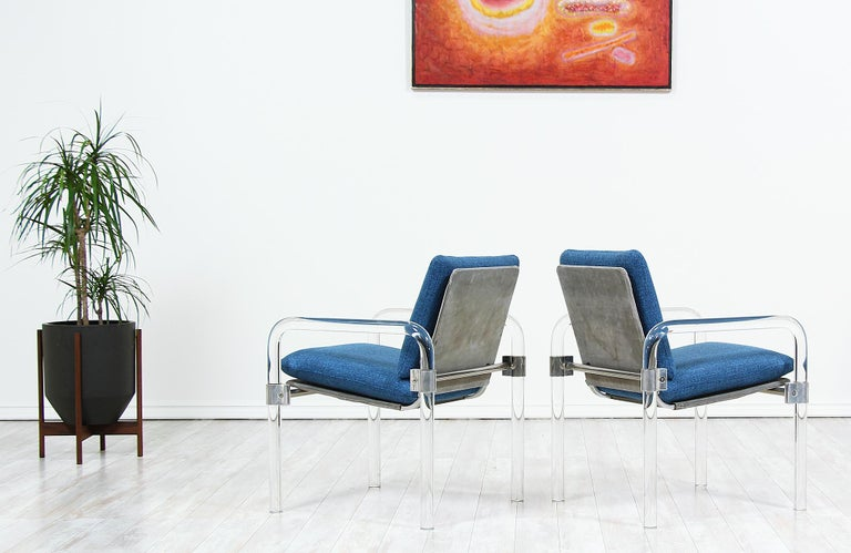 Mid-Century Modern Pipe Line Series II Armchairs by Jeff Messerschmidt In Excellent Condition For Sale In Los Angeles, CA