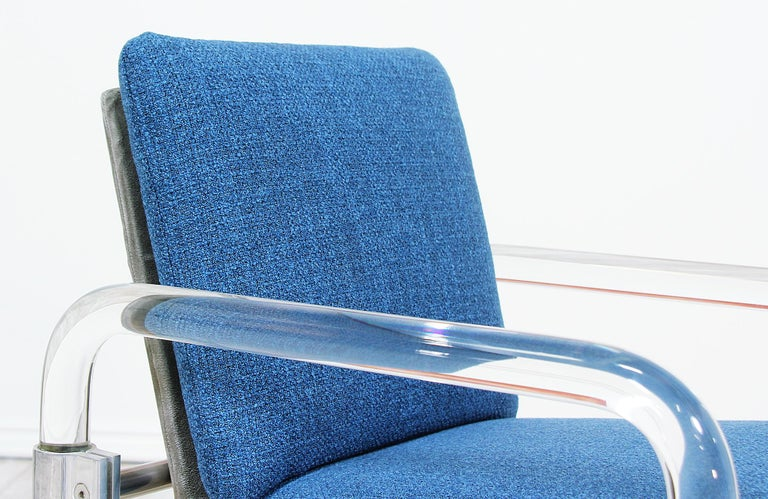Late 20th Century Mid-Century Modern Pipe Line Series II Armchairs by Jeff Messerschmidt For Sale