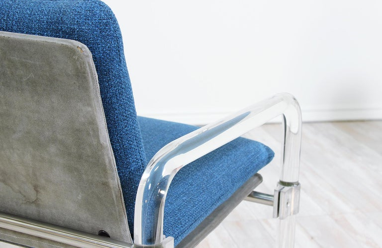 Mid-Century Modern Pipe Line Series II Armchairs by Jeff Messerschmidt For Sale 1