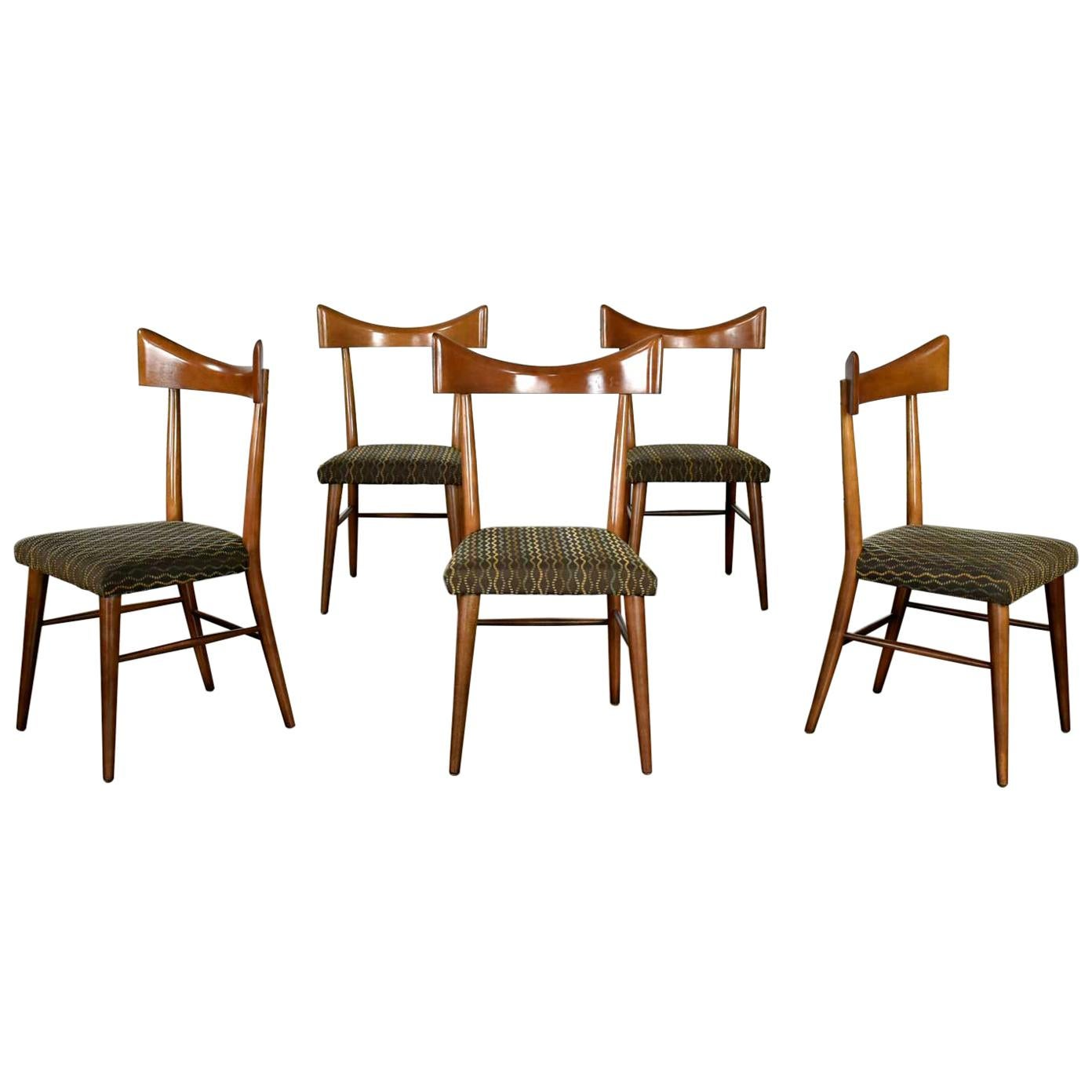 Mid-Century Modern Planner Group Dining Chairs Paul McCobb for Winchendon Set 5
