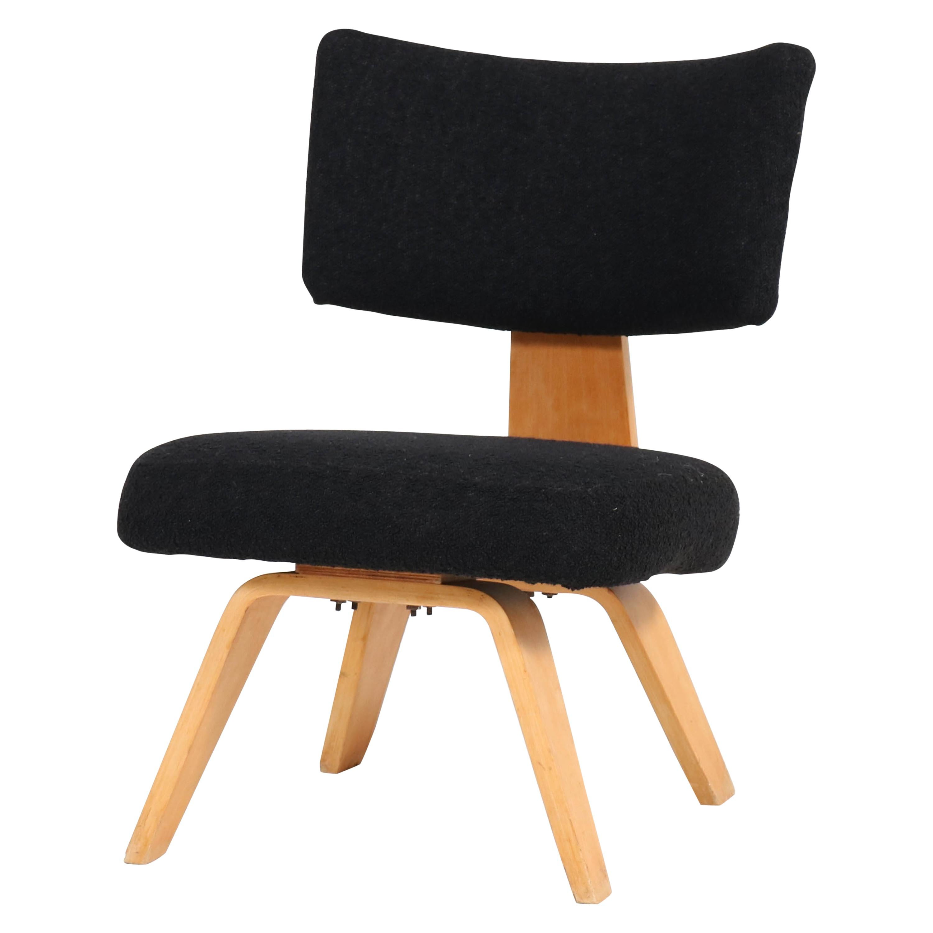 Mid-Century Modern Plywood Easy Chair by Cor Alons for Den Boer Gouda, 1948