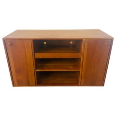 Mid-Century Modern Pompanoosuc Mills Cherrywood Stereo Cabinet or Sideboard