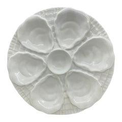 Mid-Century Modern Porcelain Oyster Plate Bauscher, Germany
