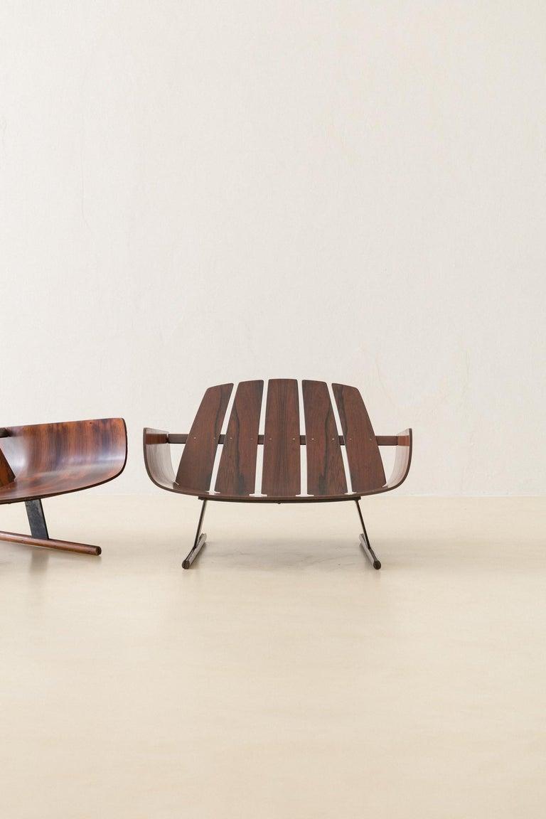 Mid-Century Modern Presidencial Armchair by Brazilian Designer Jorge Zalszupin For Sale 6